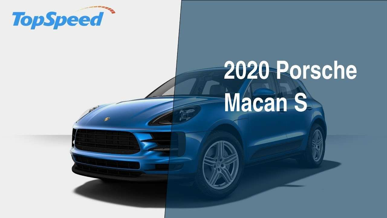 62 New 2020 Porsche Macan Performance And New Engine