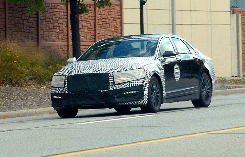 62 New Spy Shots Lincoln Mkz Sedan Configurations