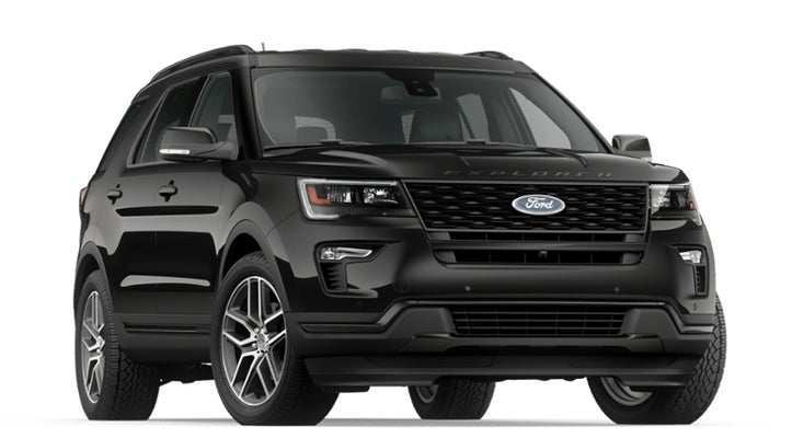 62 The 2019 Ford Explorer Sports History