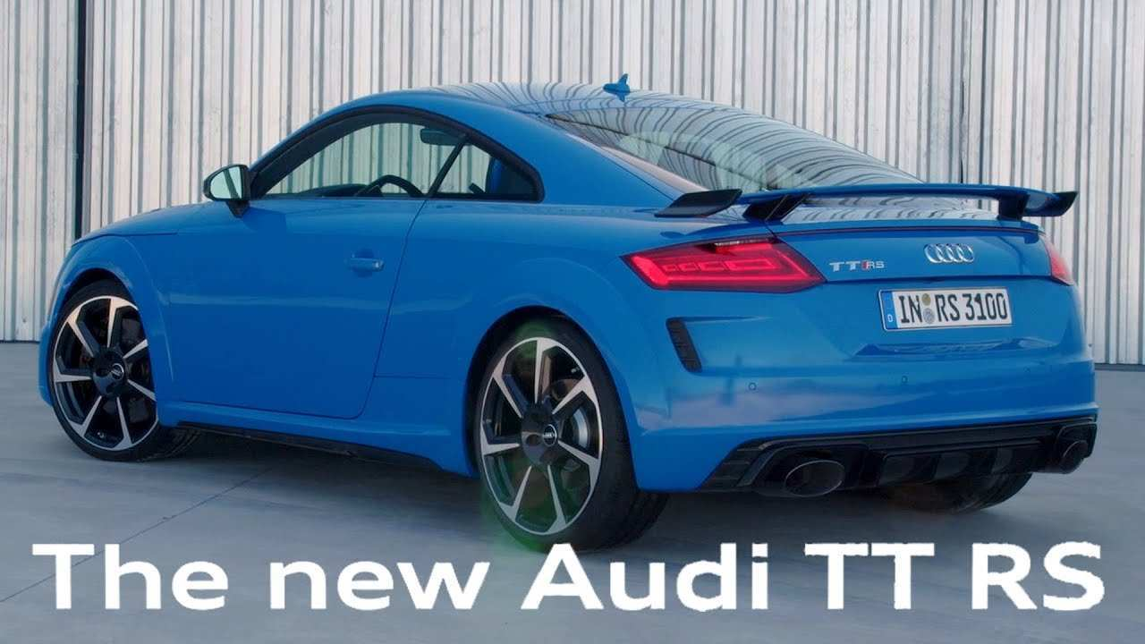 62 The 2020 Audi Tt Rs Concept And Review