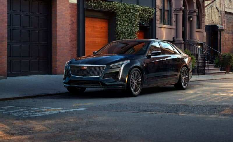 62 The 2020 Cadillac CTS V Spy Shoot