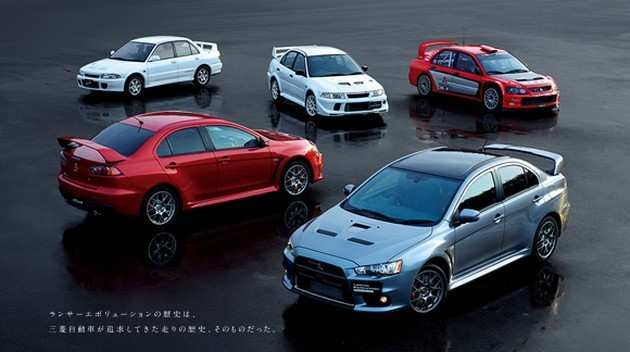 62 The 2020 Mitsubishi Lancer EVO XI First Drive