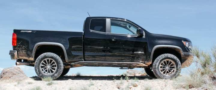 63 A 2019 Chevrolet Colorado Z72 Spesification