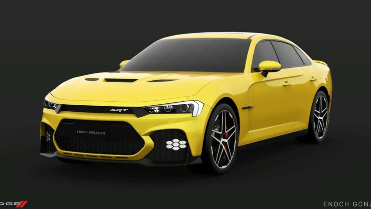 63 A 2019 Dodge Charger SRT8 Concept