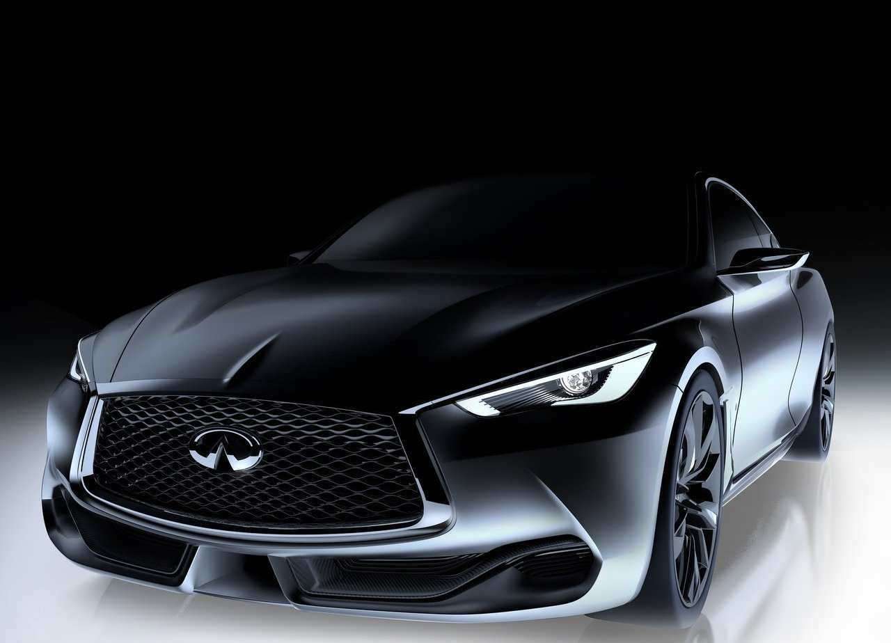 63 A 2019 Infiniti Q60 Black S Spy Shoot