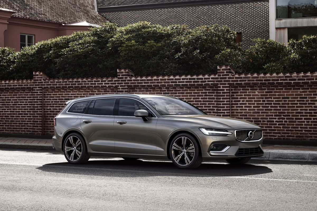 63 A 2019 Volvo Wagon Model