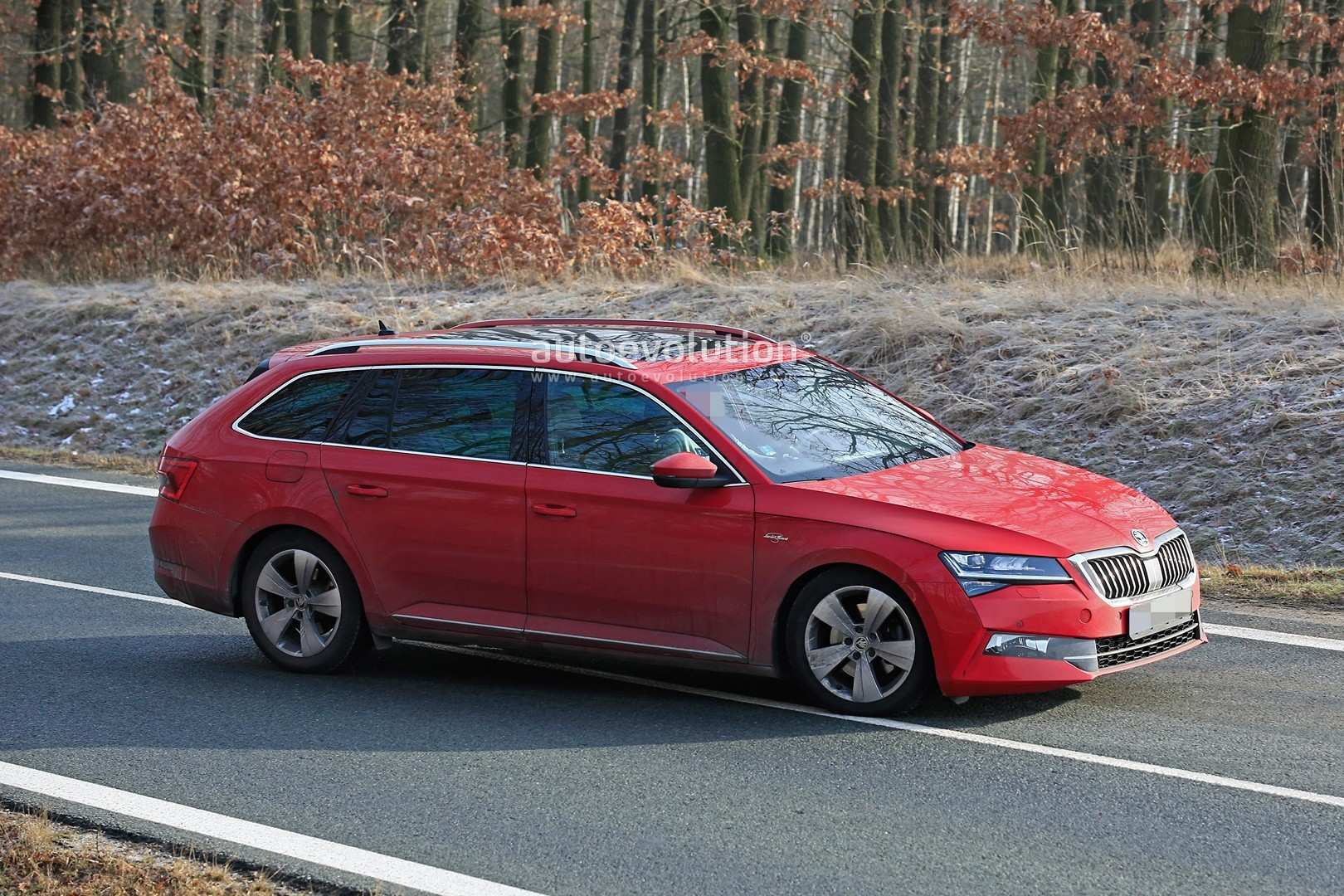 63 A 2020 New Skoda Superb Rumors