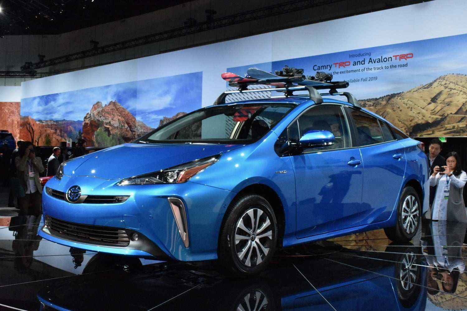 63 A 2020 Toyota Prius Pictures First Drive