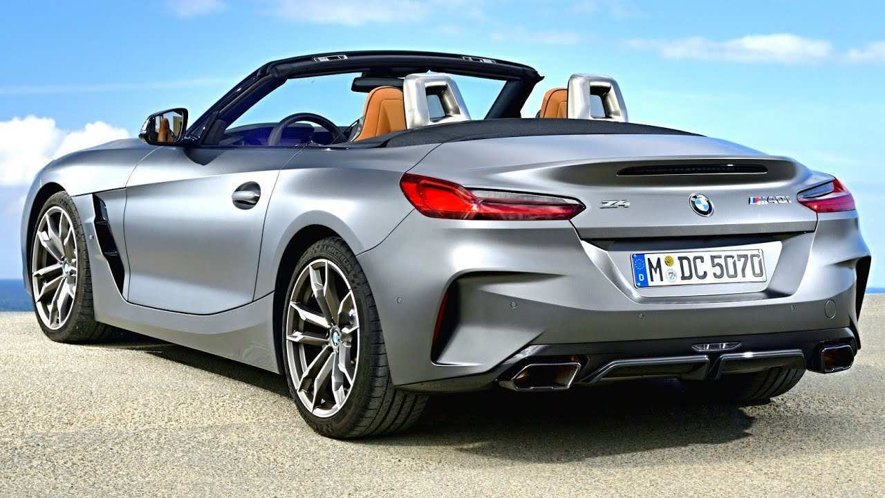 63 A BMW Z4 2020 Spy Shoot