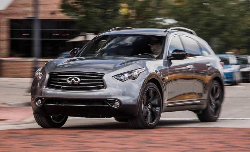 63 A Infiniti Qx70 2020 Speed Test
