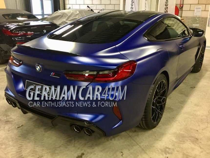 63 All New 2019 BMW M8 Model