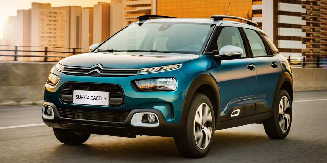 63 All New 2019 Citroen C4 Spy Shoot