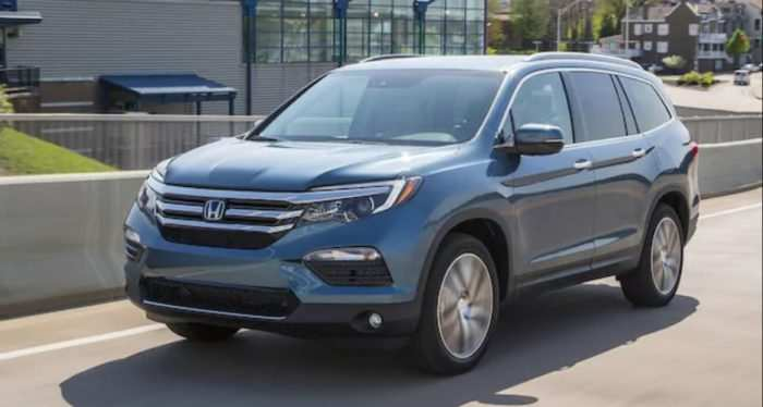 63 All New 2020 Honda Pilot Spy Photos Rumors