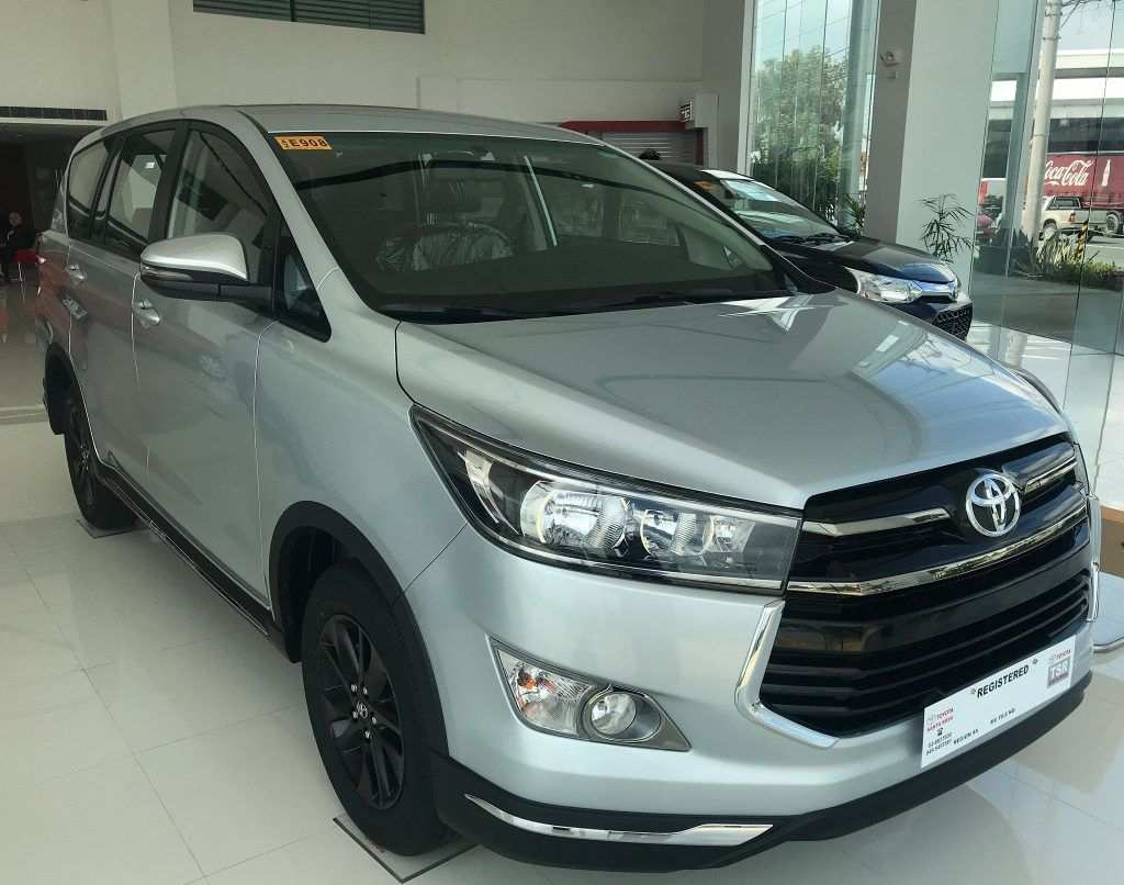 63 All New Toyota Innova 2019 Philippines Interior