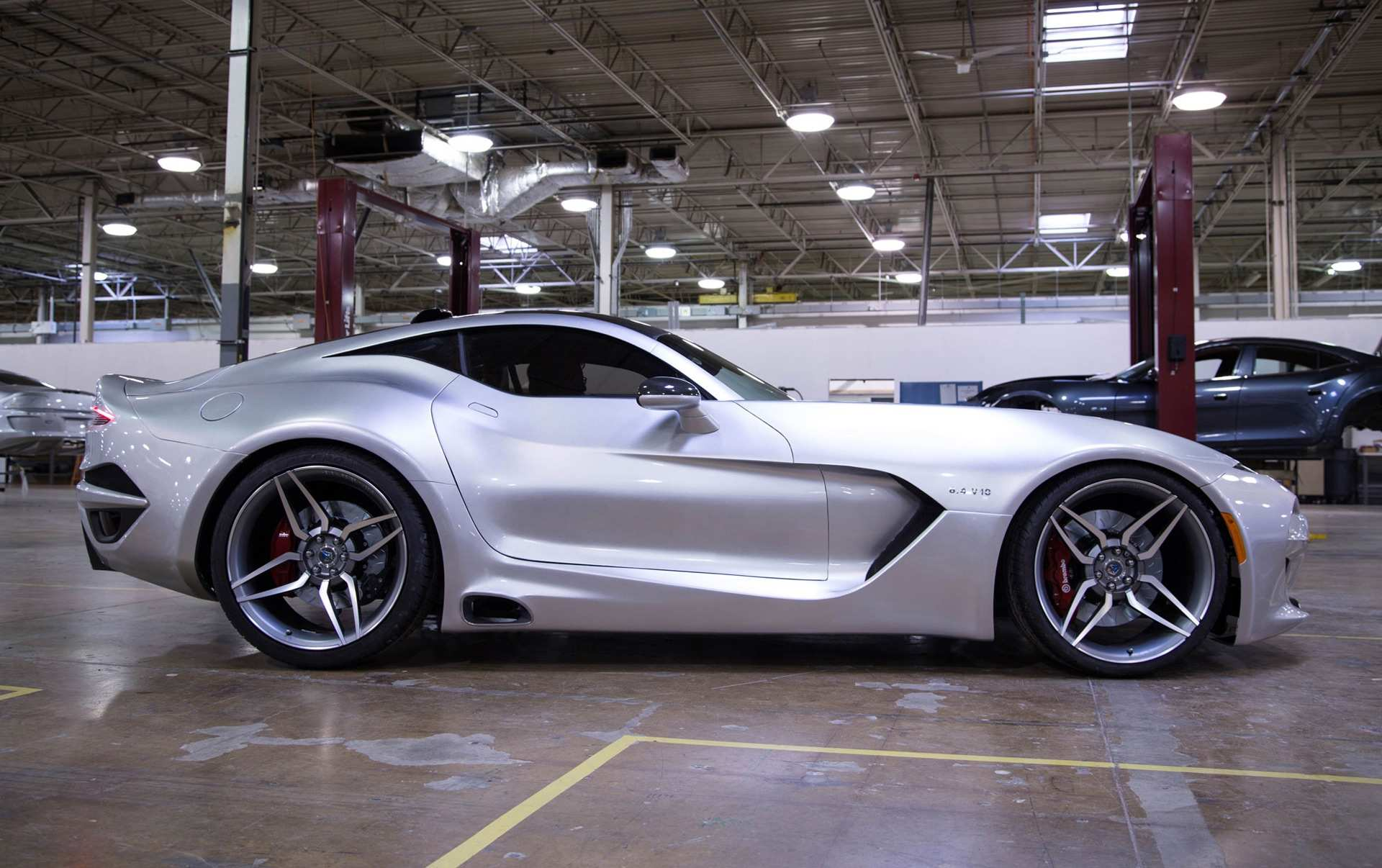 63 New 2019 Dodge Viper ACR Engine