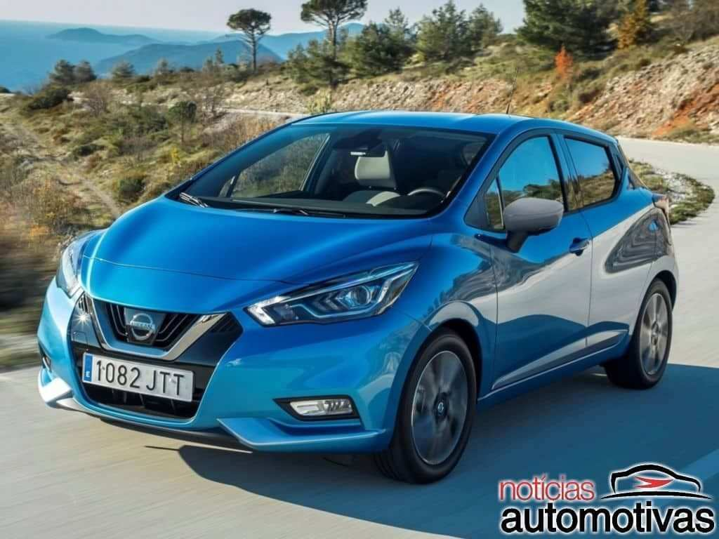 63 New 2019 Nissan March Mexico Columbia Spy Shoot