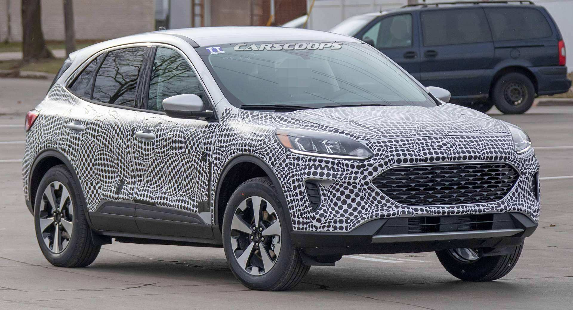 63 New Ford Kuga 2020 Spy Shots Picture