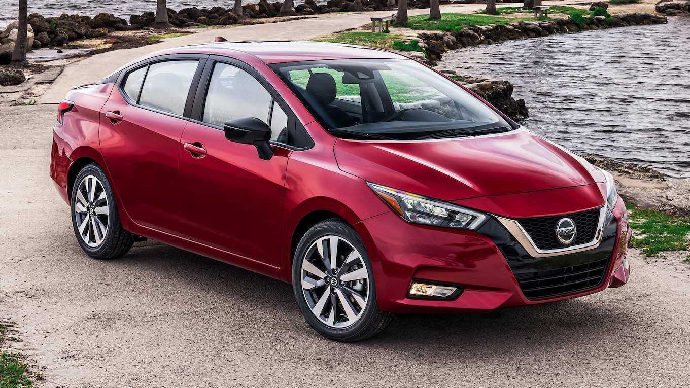 63 New Nissan Versa 2020 Price Design And Review