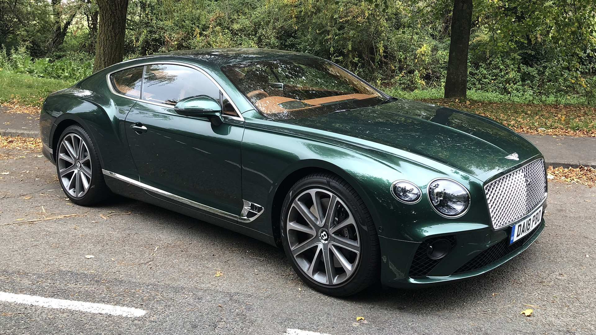 63 The 2019 Bentley Continental GT Style