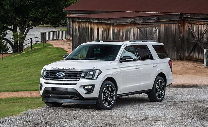 63 The 2019 Ford Expedition Spy Shoot