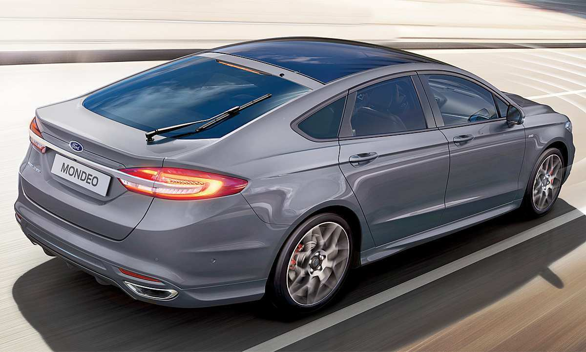 63 The 2019 Ford Mondeo Vignale Speed Test
