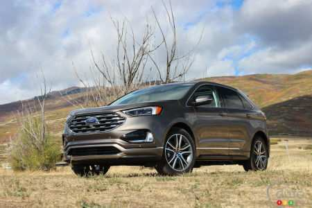 63 The Best 2019 Ford Edge New Design Pictures