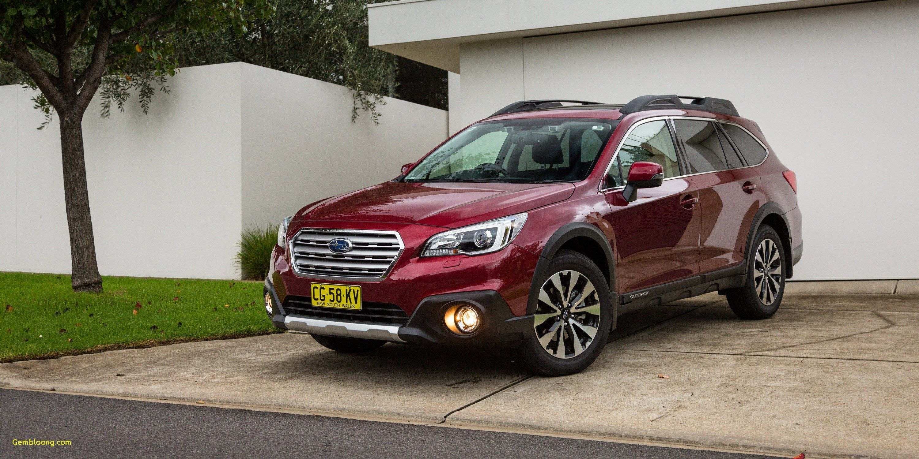 63 The Best 2019 Subaru Outback Turbo Hybrid Redesign And Concept