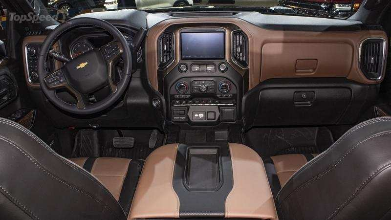 63 The Best 2020 Chevrolet Silverado Hd Interior Release Date And Concept