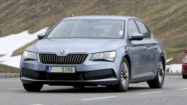 63 The Spy Shots Skoda Superb Pricing
