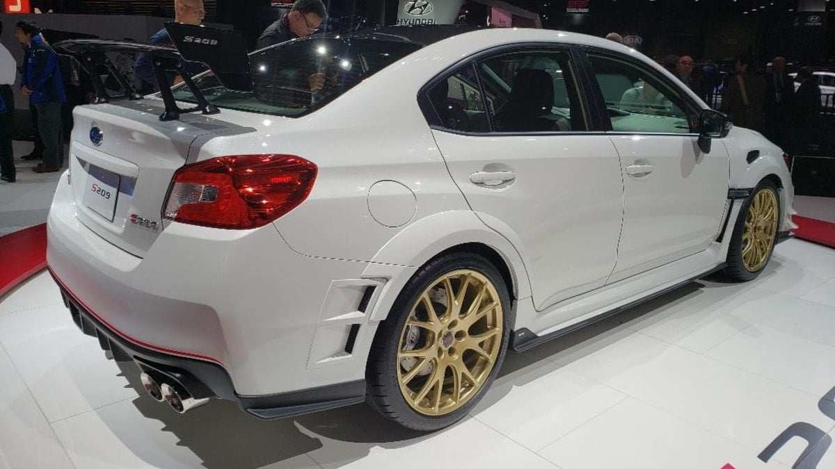 63 The Subaru Sti 2020 Horsepower Photos