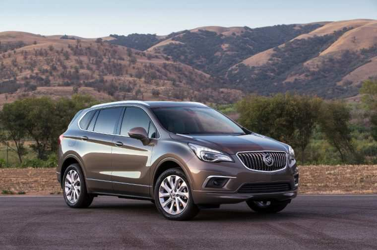 64 A 2020 Buick Envision Overview