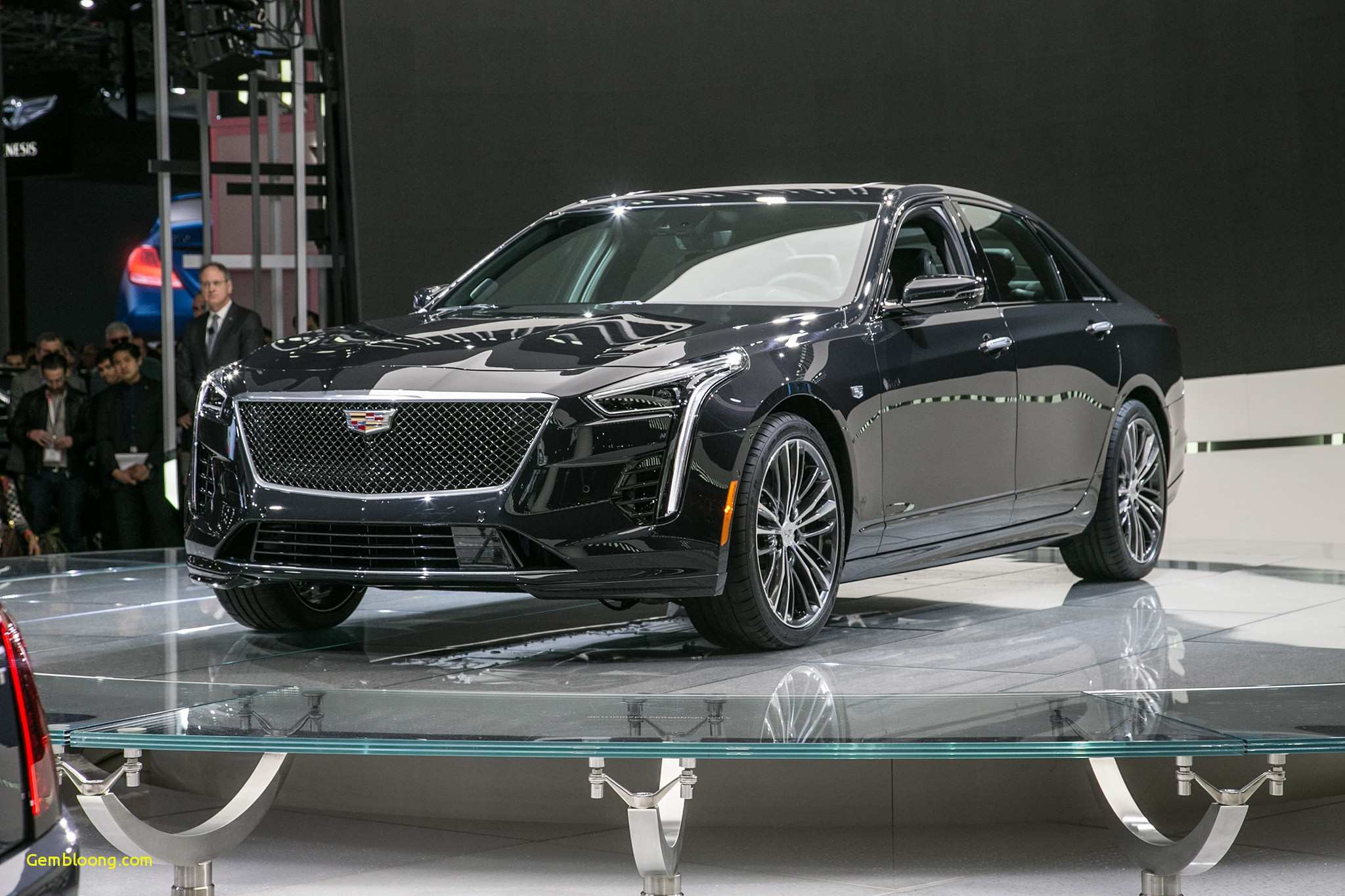 64 A 2020 Cadillac LTS Spy Shoot