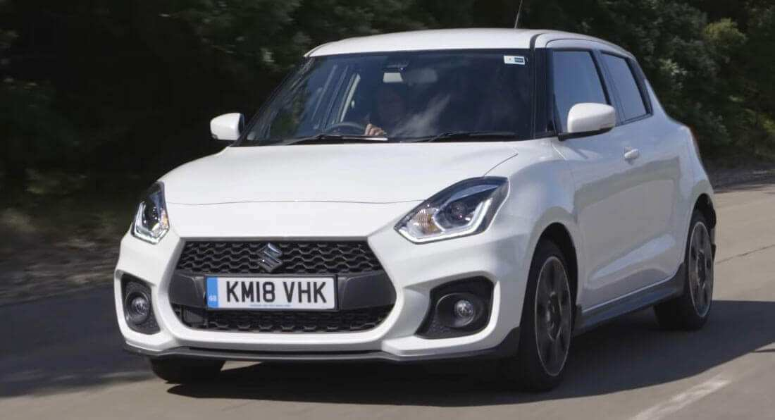 64 A 2020 New Suzuki Swift Sport Photos