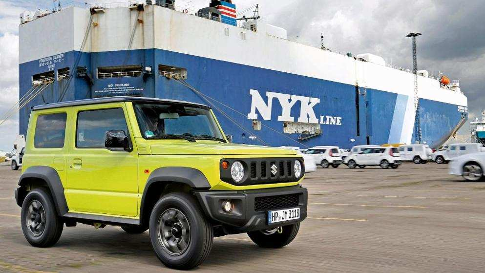 64 A 2020 Suzuki Jimny Model Exterior And Interior