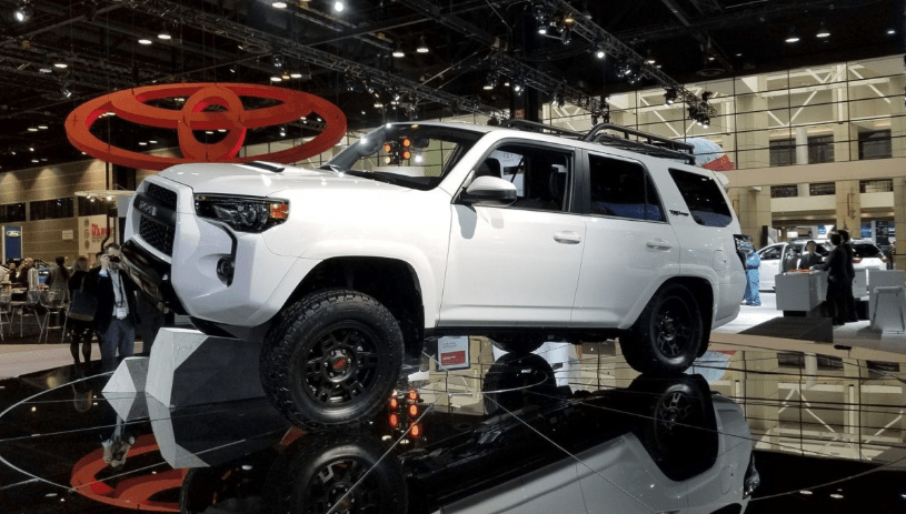64 A 2020 Toyota 4Runner Wallpaper