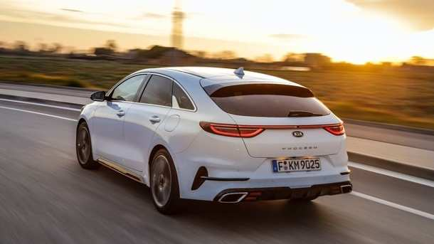 64 A Kia Pro Ceed Gt 2019 Speed Test