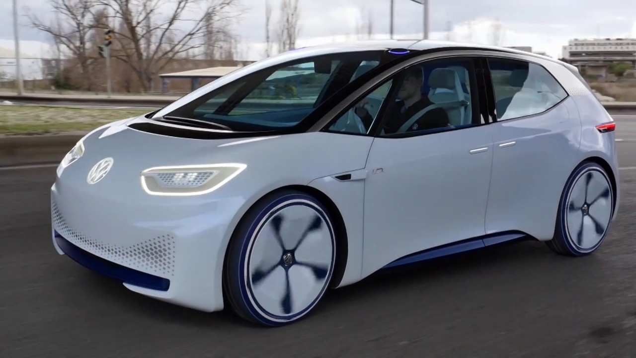 64 A Volkswagen Electric Car 2020 Spy Shoot