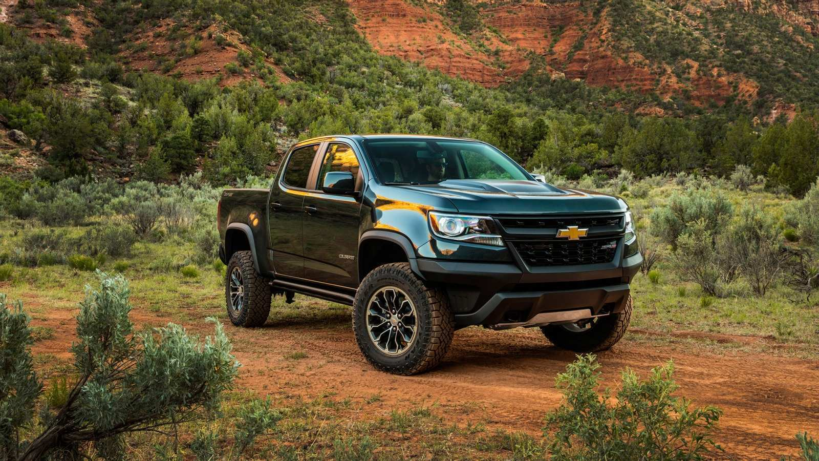 64 All New 2020 Chevrolet Colorado Z72 Images