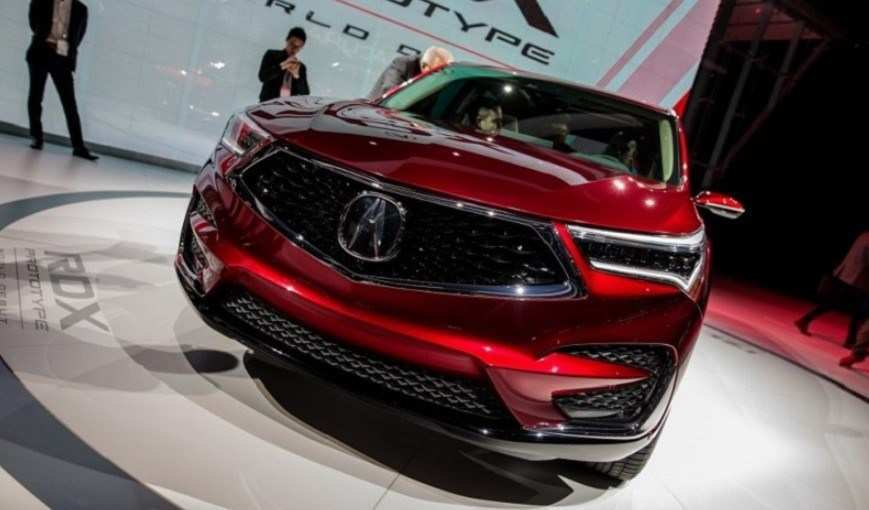 64 All New Acura Cdx 2020 Spy Shoot