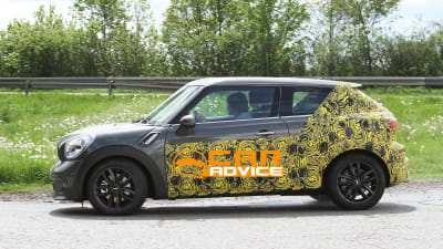 64 All New Spy Shots Mini Countryman Exterior