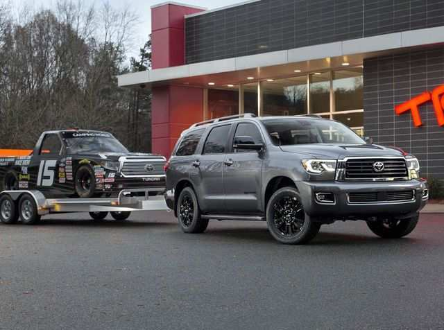 64 All New Toyota Sequoia 2019 Redesign Concept And Review
