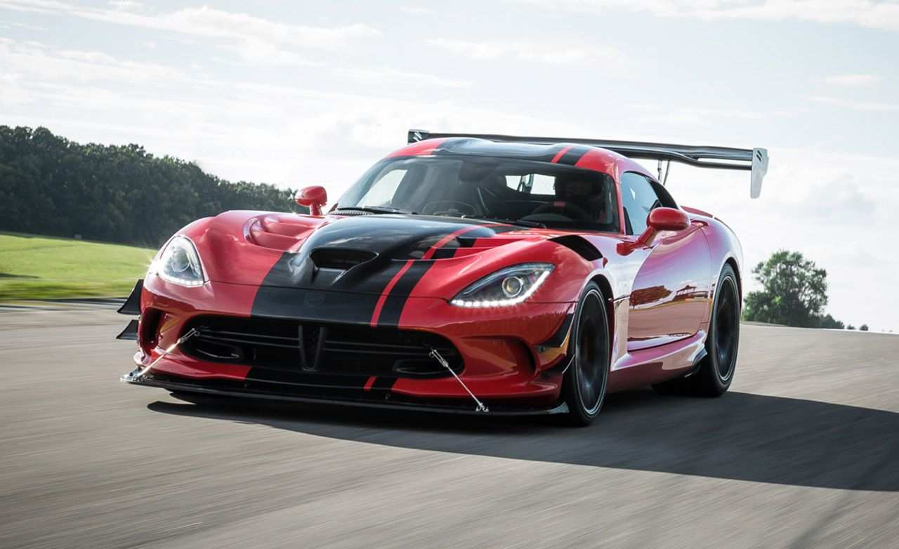 64 New 2019 Dodge Viper ACR Redesign And Review
