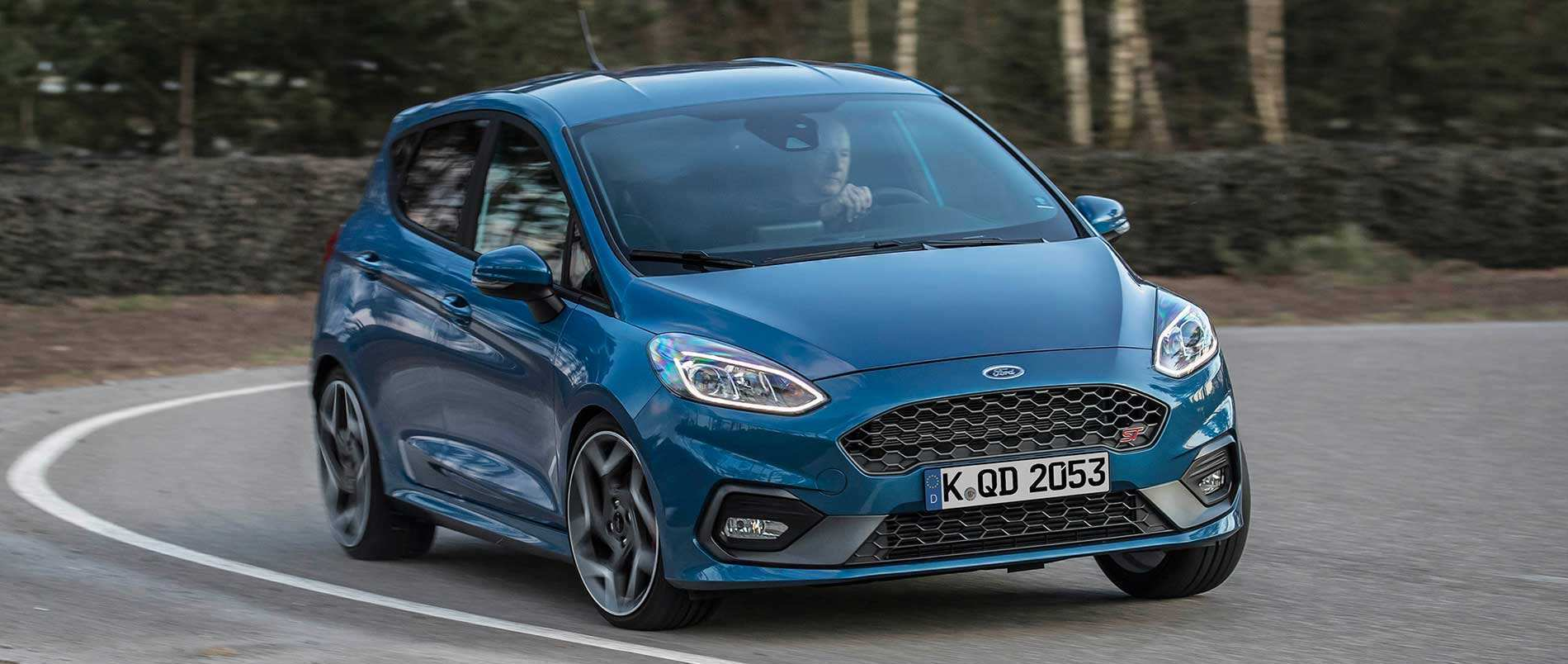 64 New 2019 Fiesta St Interior