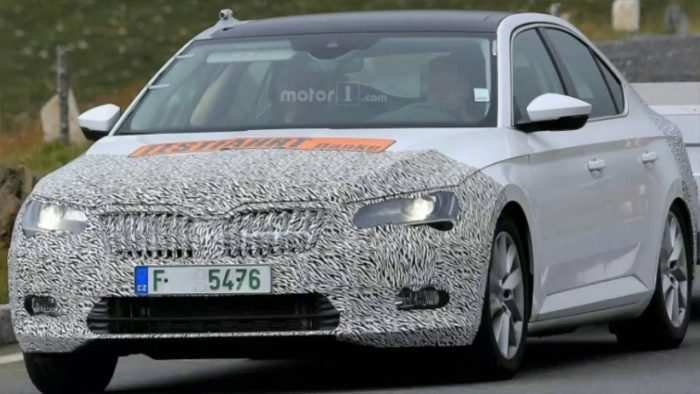 64 New 2019 The Spy Shots Skoda Superb New Concept