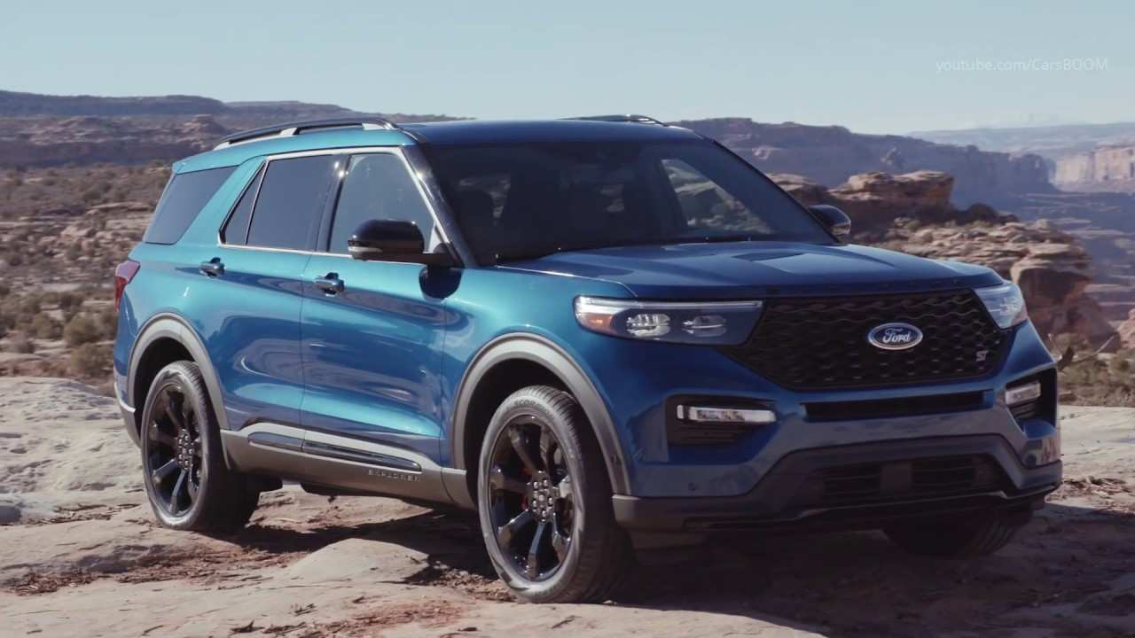 64 New 2020 Ford Explorer Sports Redesign And Concept