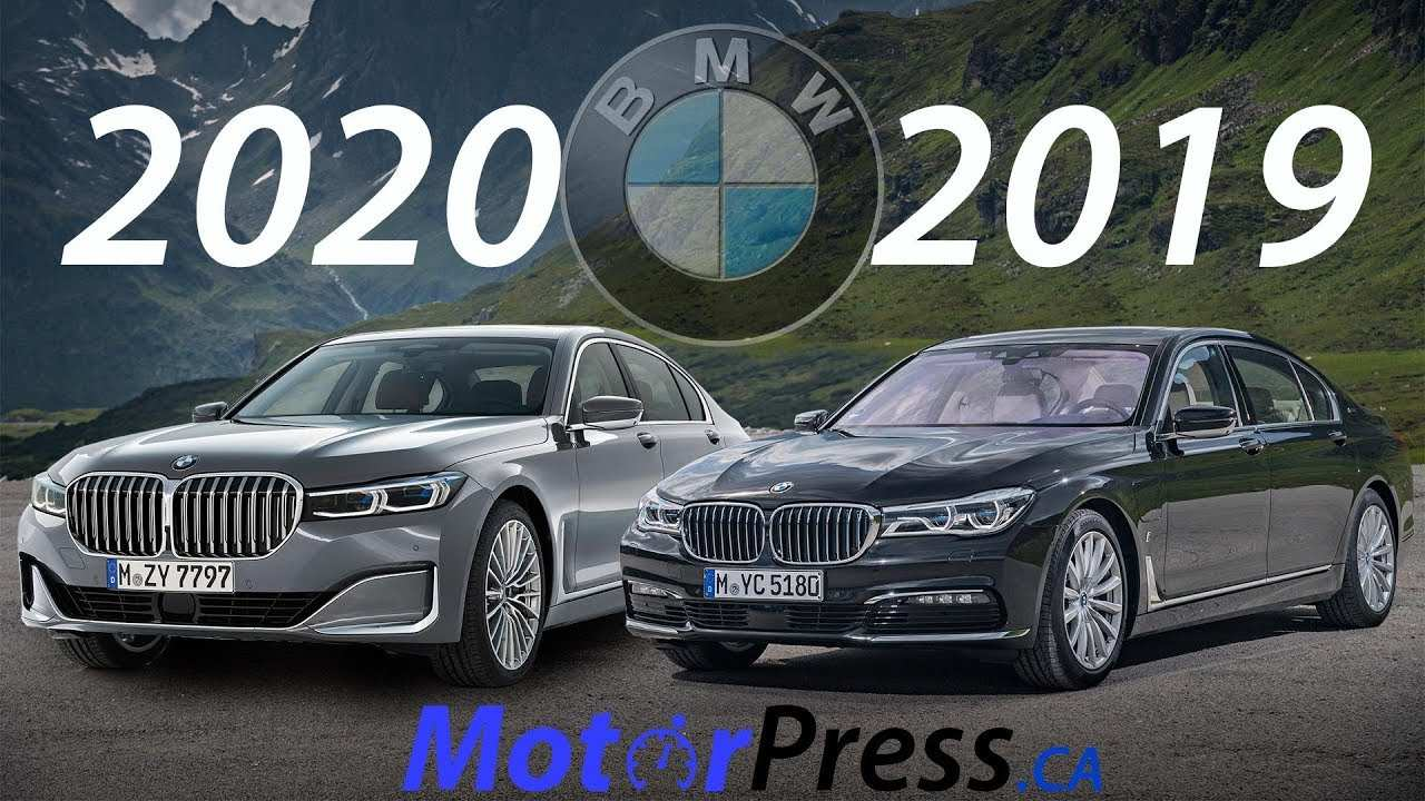 64 New BMW 7 Series 2020 Vs 2019 New Review