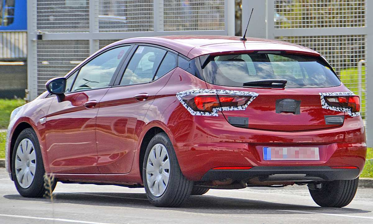 64 New Opel Astra K Facelift 2020 Price And Review