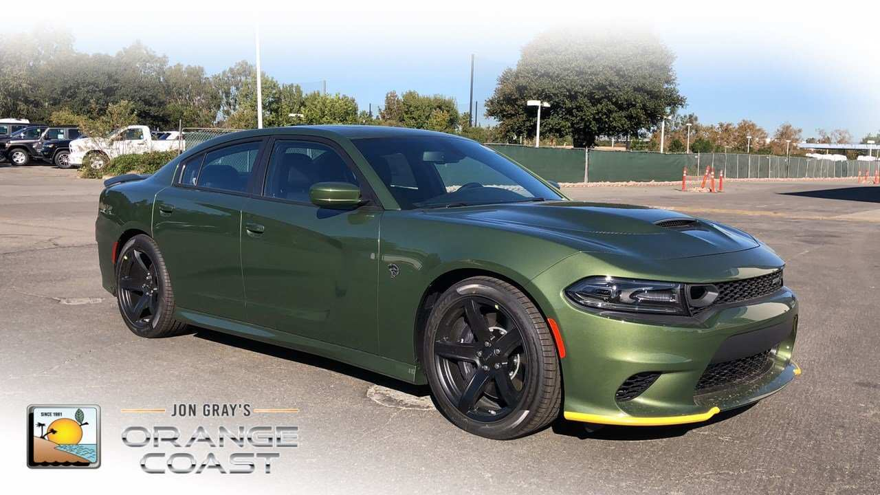 64 The 2019 Dodge Charger SRT8 Spy Shoot