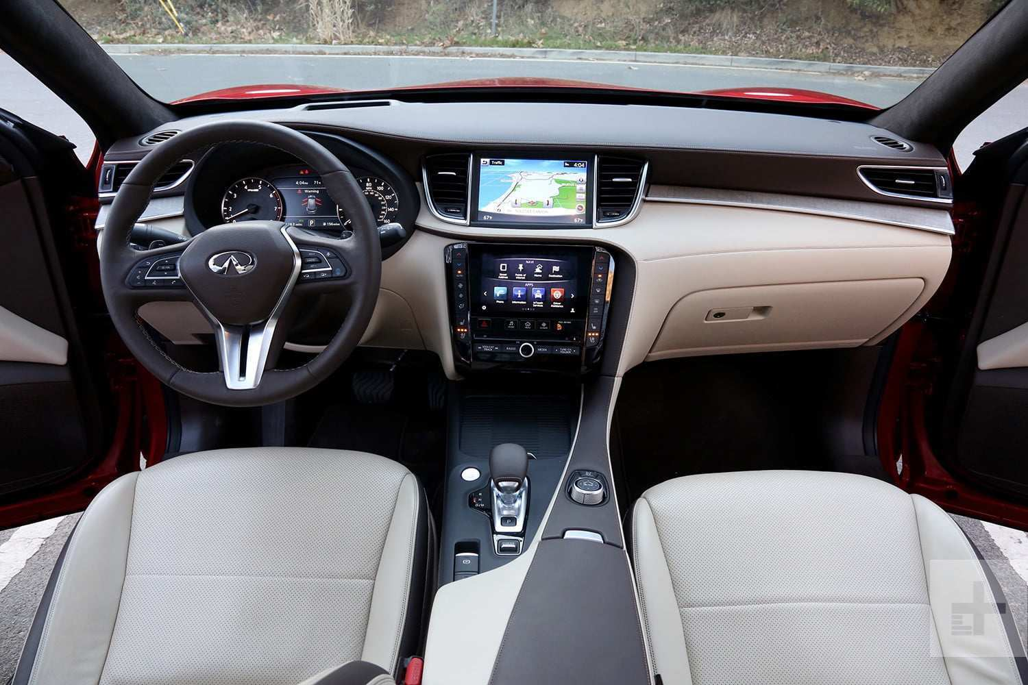 64 The 2019 Infiniti Qx50 Luxe Interior First Drive