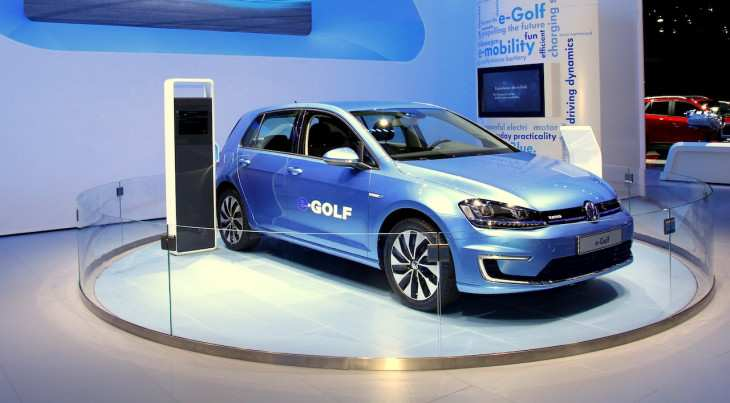 64 The 2019 Vw E Golf Interior